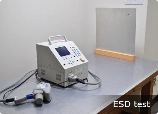 ESD test