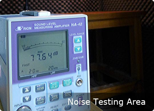 Noise Testing Area