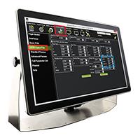 IP69K Stainless P-Series Display