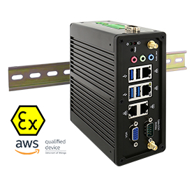 IBDRW DIN Rail Box PC IBDRW100-EX-P