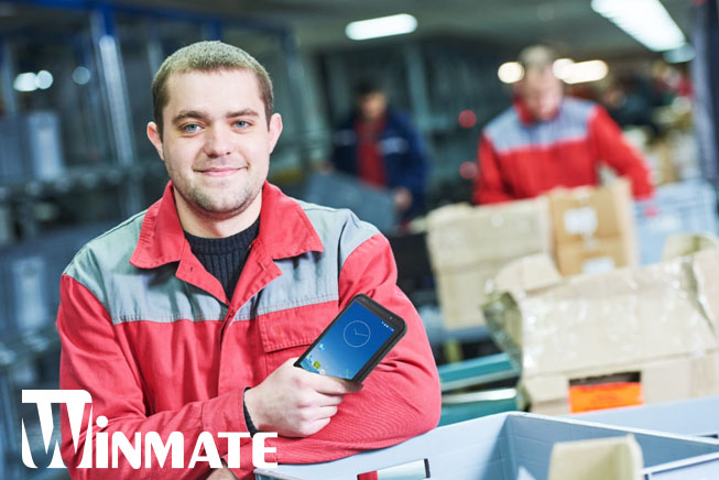 """Light and Powerful for Full Workforce Mobility: 7"""" Rugged Handheld Device"""