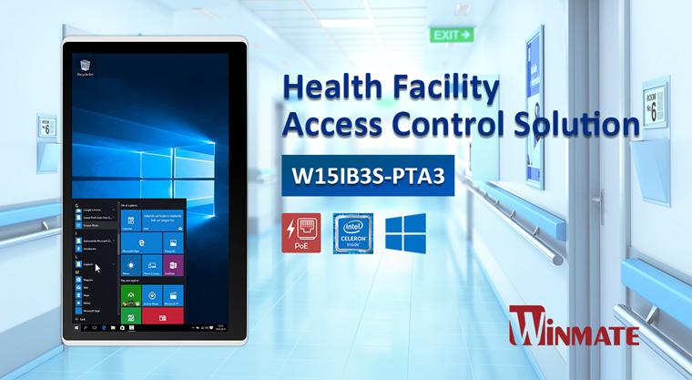 Healthcare Facilities Access Control Solution with Winmate HMI Panel PCs