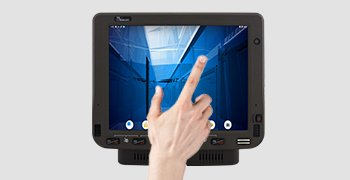 "10.4"" Compact Housing with Anti-scratch P-Cap Multi-touch Screen"