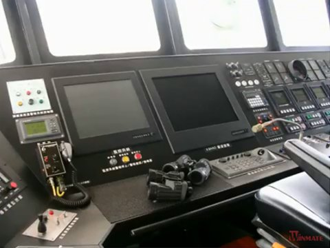 Winmate Marine Display Real Application in Marine Bridge Video