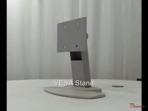 Winmate Industrial Display with VESA Mount Stand Mounting Guide Video
