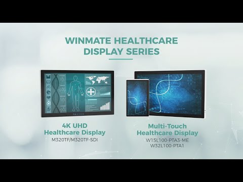 Winmate Healthcare Display Series Product Guide Video