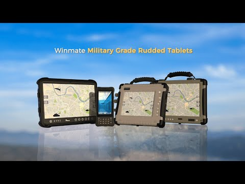 Winmate Military Grade Rugged Tablets Series Product Guide Video