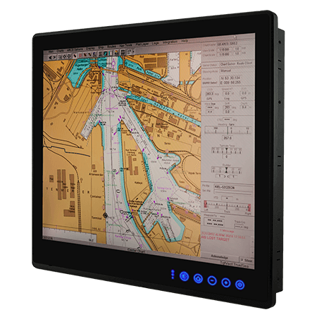 "19"" ECDIS Marine Display R19L300-MRA1FP"
