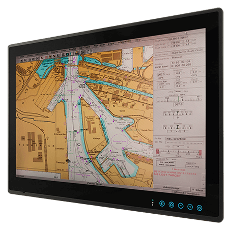 "23.8"" ECDIS Marine Display W24L100-MRA1FP"