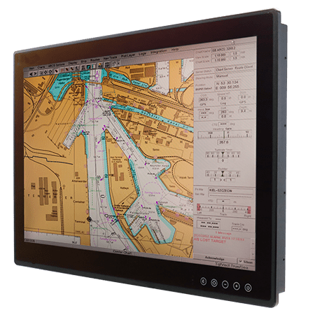 "26"" ECDIS Marine Display W26L100-MRA1FP"